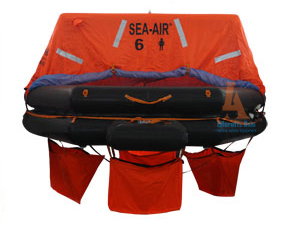 SEA AIR ATOB-6 PERSON THROW OVERBOARD